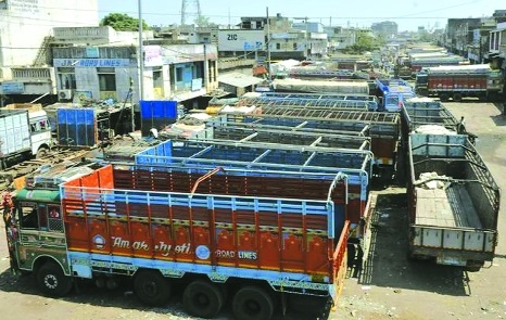 Truckers' strike likely to dampen festive mood