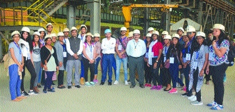 Tourists of Indian Origin visit BSP under 'Know India Programme'