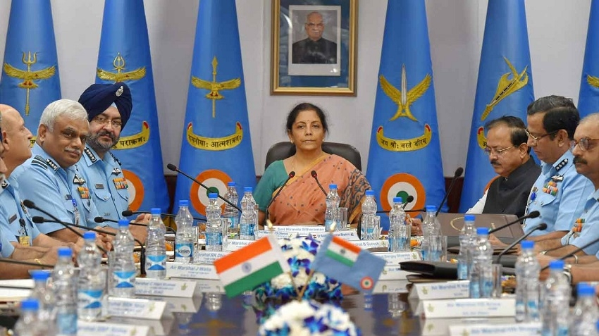 Sitharaman assures speedy decisions to boost Air Force
