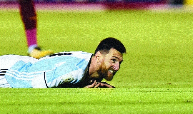 Cometh the hour, cometh Messi