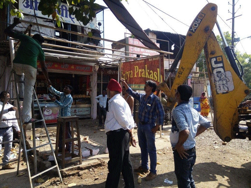 Many illegal structures removed in drive