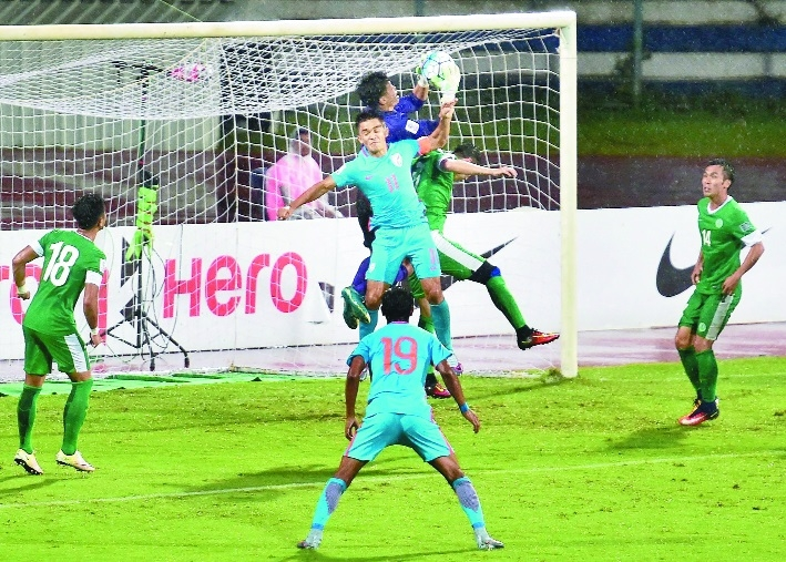 'Current team is the best in Indian football history'
