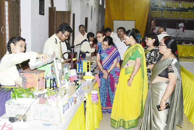 Distt-level competitions of National Science exhibition held