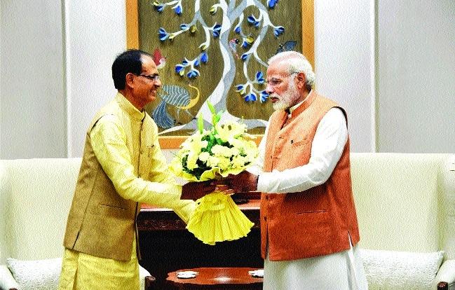 CM Chouhan meets PM Narendra Modi