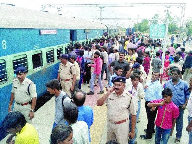 Bomb scare halts Jhelum Express for 5 hours at Ganjbasoda station