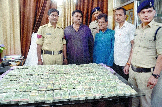 Two held with Rs 80 lakh hawala cash