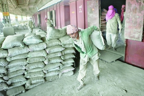 Cement prices crash as demand contracts