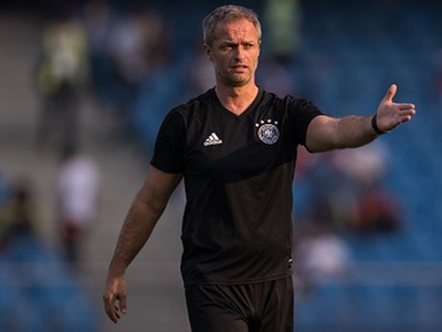 Our aim is to develop players for senior team: German coach
