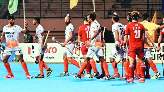 Gurjant salvages a hard-fought draw for India against Korea