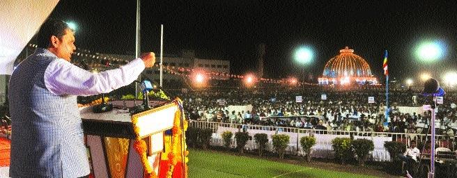 Deekshabhoomi to become world class tourist place: CM