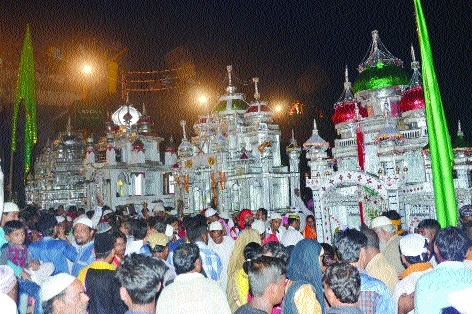 People of various communities join Tazia processions in Bhilai