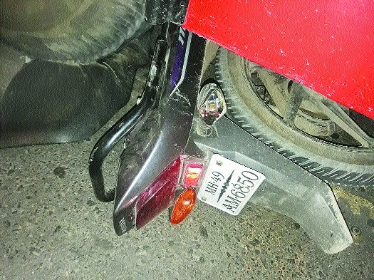 Two crushed to death as Starbus hits motorcycle