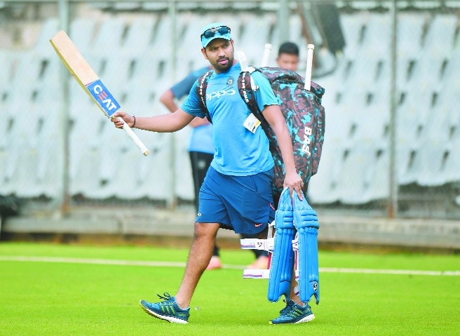 Would like to continue from where we left against Aussies: Rohit