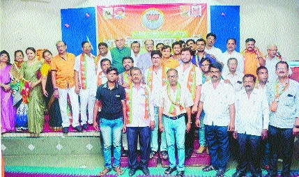 New executive committee of BJP OBC Morcha, West Nagpur, in