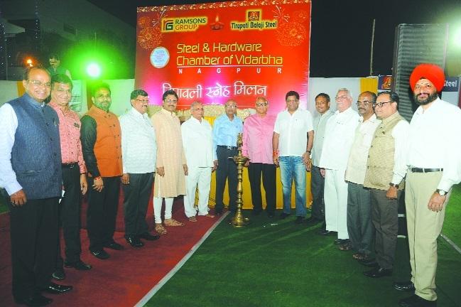 Steel & Hardware Chamber of Vid holds Diwali Milan
