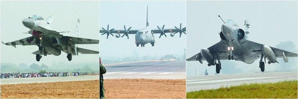 IAF jets land on Agra-Lucknow Expressway