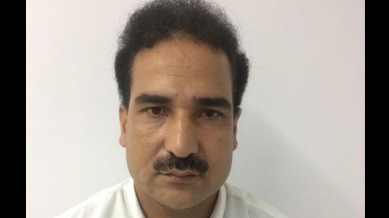 Salahuddin's son held for terror funding