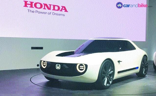 Honda showcases electric vehicle concepts at Tokyo Motor Show