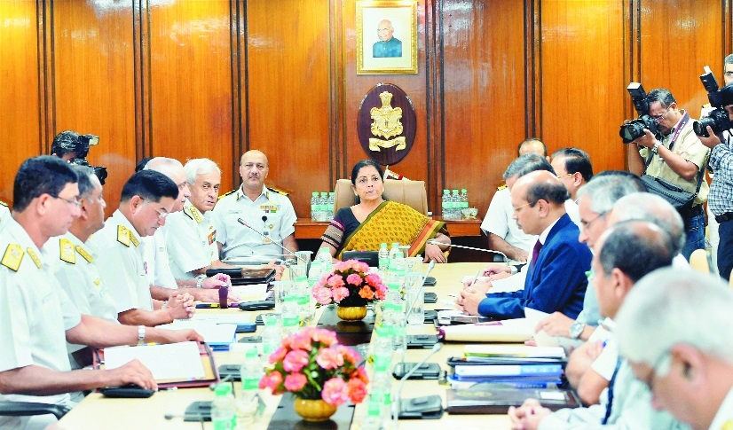 Be ready to face any challenge: Nirmala to Navy