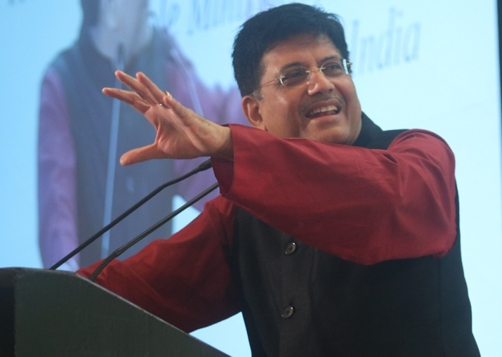 Railways working towards 100% electrification: Goyal