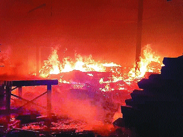 Fire at four saw mills; property worth over Rs 6 crore destroyed