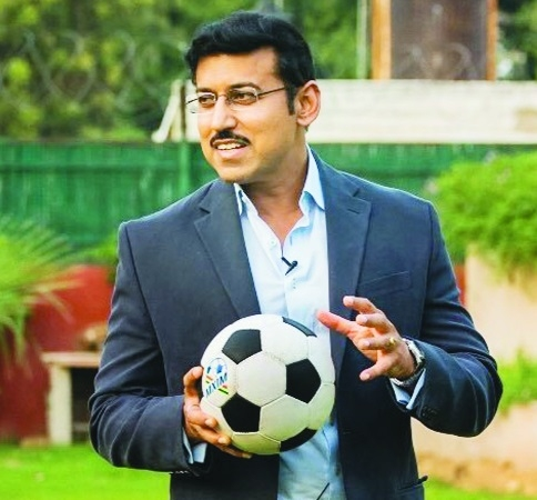 Sports Min urges to develop Indian football