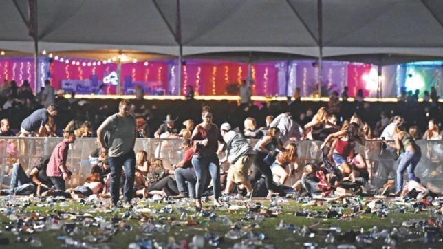 Gunman kills 58, injures 500 in Las Vegas concert