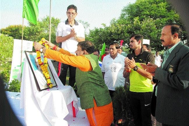 Swachhata Hi Seva Diwas observed on Gandhi Jayanti at SAI CRC
