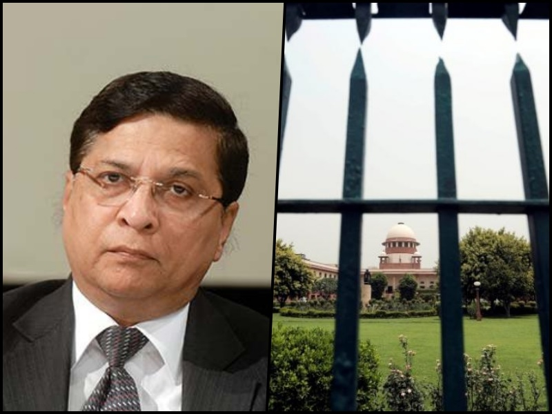 Pending SC cases down by 2,174 under CJ Misra