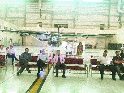 Seaplane's trial at Khindsi in November