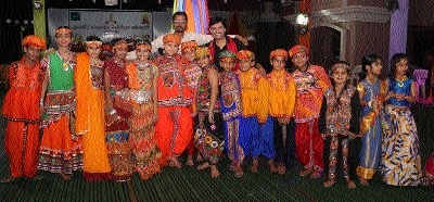 Walfort Enclave residents society organises Jagrata, Ras Garba