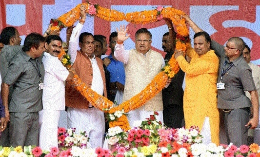 C'garh is developing rapidly because of farmers: CM
