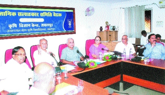 12th Scientific Advisory Committee meet organised at Krishi Vigyan Kendra, JNAU