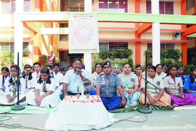 St Montfort Scouts & Guides holds Sarvadharam Prayer Service
