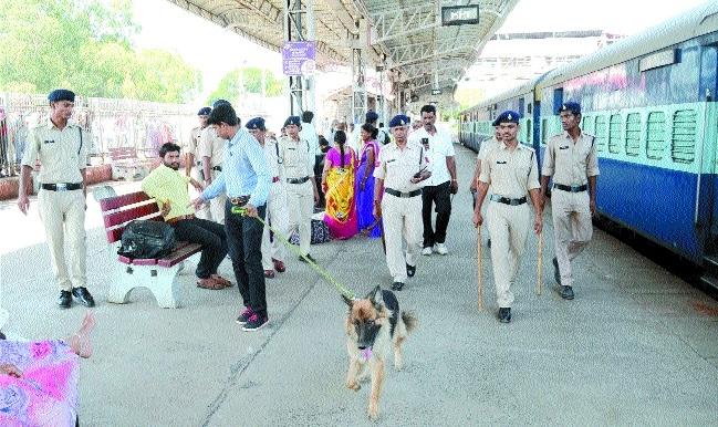 Bomb hoax at Bhopal Junction, Hoshangabad, Narsinghpur rly stations
