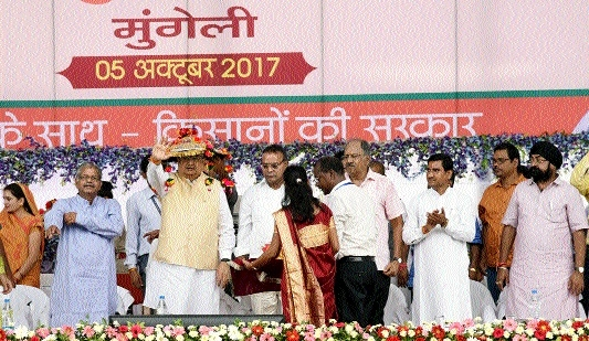 Farmers celebrating 'Diwali' twice this year: CM