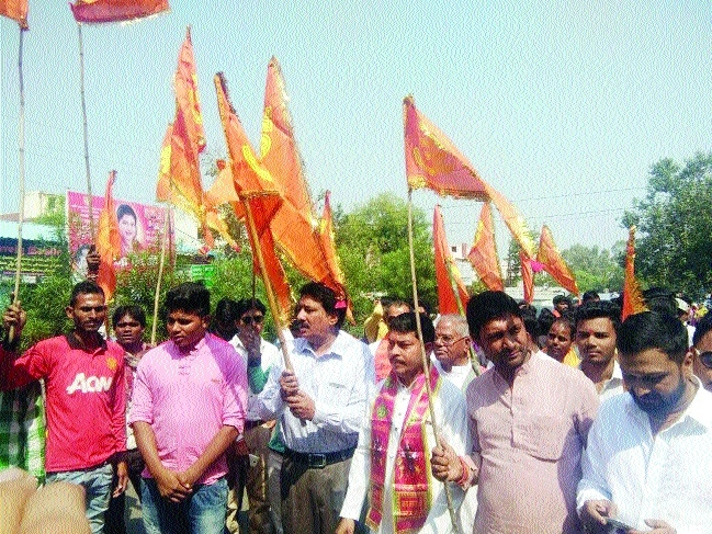 Protest rally held on abattoir issue