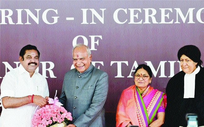 Purohit takes oath as TN Governor