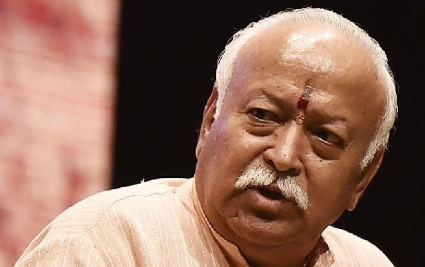 Mohan Bhagwat escapes unhurt after cars collide