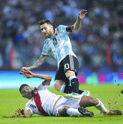 Argentina in peril as WC race goes to wire