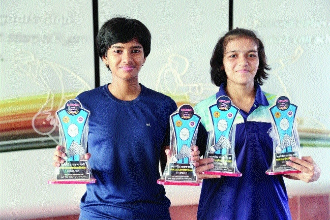 Bhopal girls win State Sub-Jr Badminton C'ship