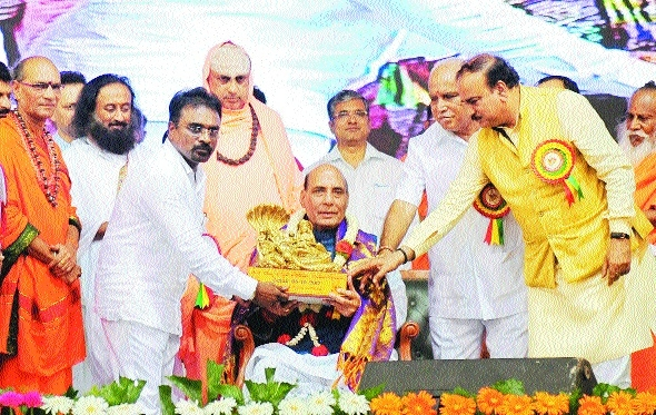 Cong created hurdles in passage of NCBC Bill: Rajnath