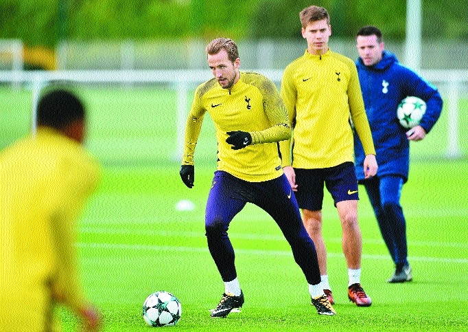 Spurs' Kane should be fit to face Real, says Pochettino