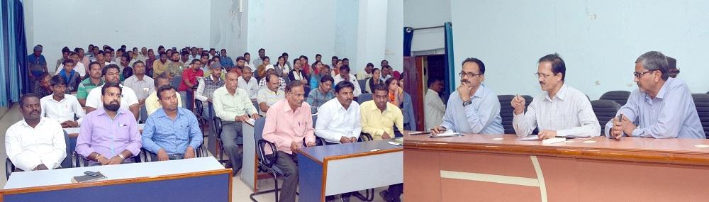 Municipal Commr Vedprakash reviews works under Swachhta Survekshan