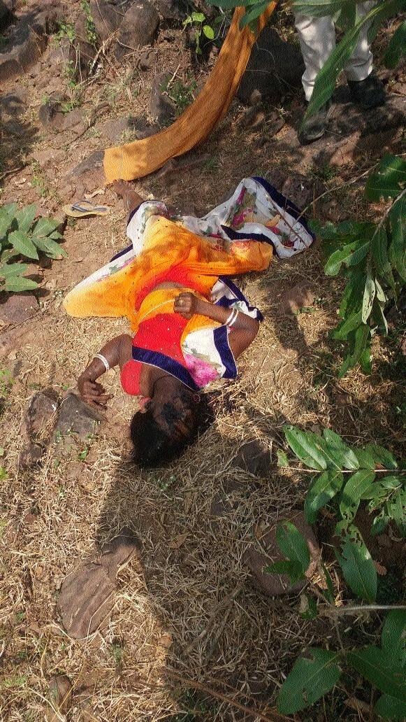 Woman's body found near farm