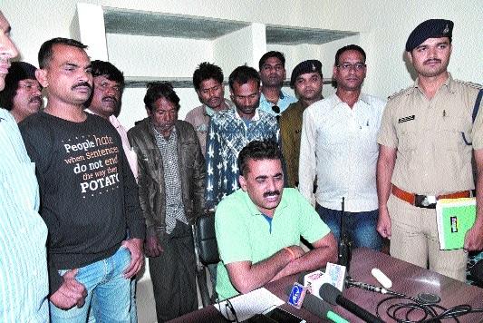 3 men involved in several incidents in police net