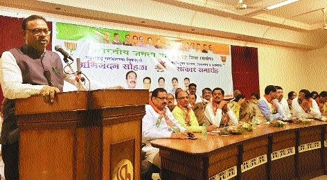 BJP MLAs praise State Govt's three-year performance