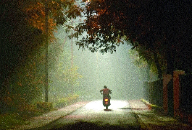 Day time heat, light cold during morning hours in State