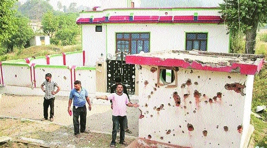 Centre assesses damages due to shelling in J&K