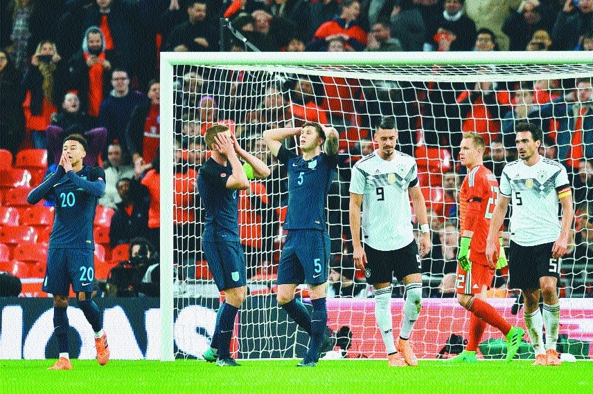 England earn goalless draw with Germany